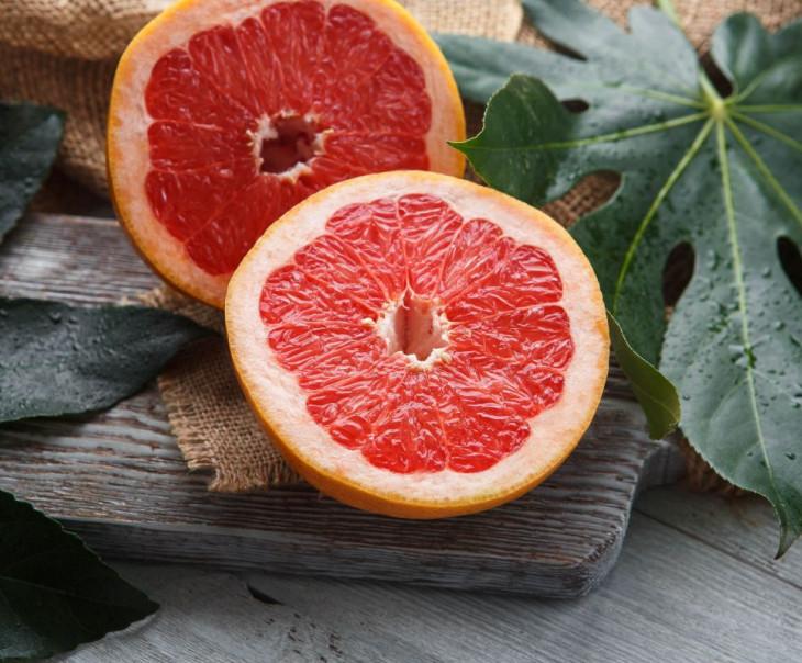 Грейпфрут крупный