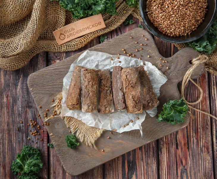 Хлеб гречишный №1 с кориандром