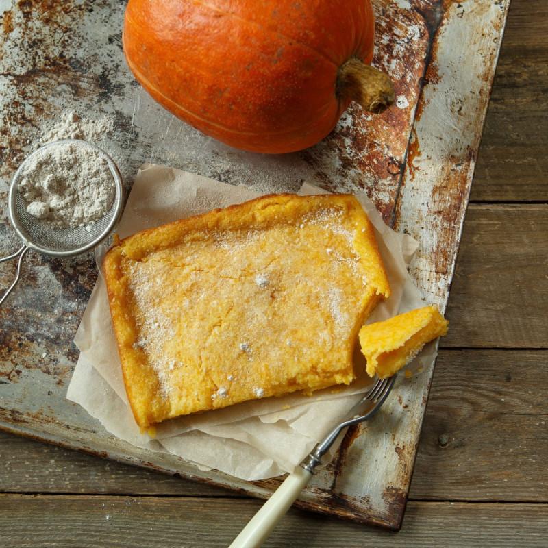 Манник тыквенныйВкусный нежный десерт ручной работы без муки без яиц и масла<br><br>Вес г.: 500