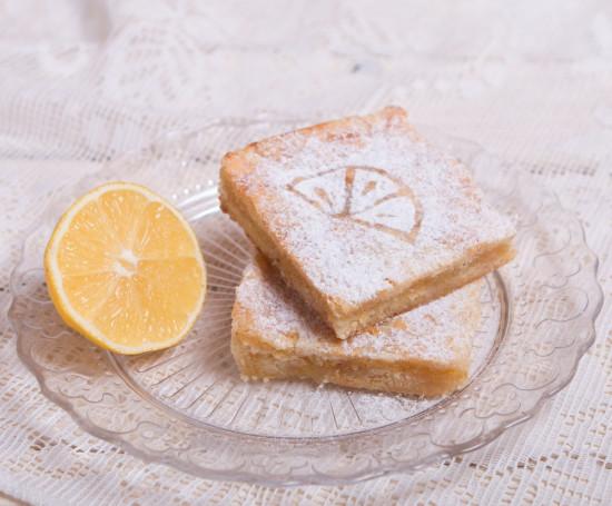 Пирожное лимонное