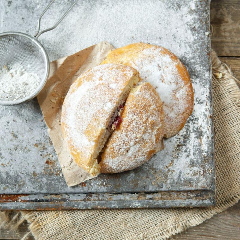 Печенье яблочноеНежное печенье со вкусной начинкой<br><br>Вес шт: 2