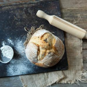 Хлеб пшеничный с базиликом