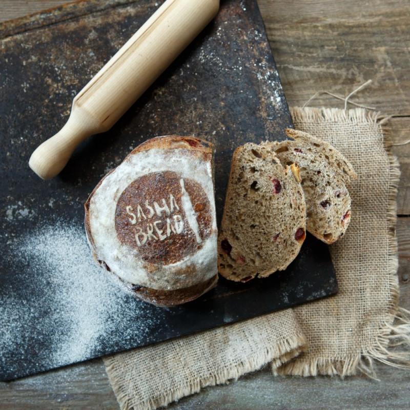 Хлеб фруктовый на закваске от сестёр Мясищевых