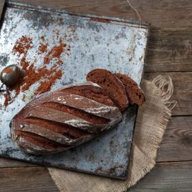 """Хлеб """"Шоколадный"""" с вишней"""