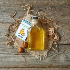 Масло грецкого ореха из дубового пресса