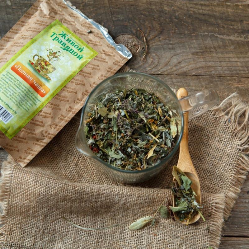 Чай витаминный травяной Полная чаша от Дмитрия ЖуковаЭтот вкусный, витаминный и универсальный напиток подходит как взрослым, так и детям. Насыщенный вкус травяного чая доставит чувственное удовольствие, а его богатый состав щедро обеспечит организм настоящими живыми витаминами. Спелые, богатые витаминами ягоды шиповник и рябина подарят вам заряд бодрости и хорошую порцию витамина С. Душистые свежие травы  душица, мята, зверобой, иссоп, мелисса, василек окутают ароматом зеленого луга. Витамины и микроэлементы активно укрепляют иммунитет, помогая противостоять простудам даже в сложный осенне-весенний период, улучшают настроение и самочувствие, заряжают организм позитивной энергией.<br><br>Вес г.: 50