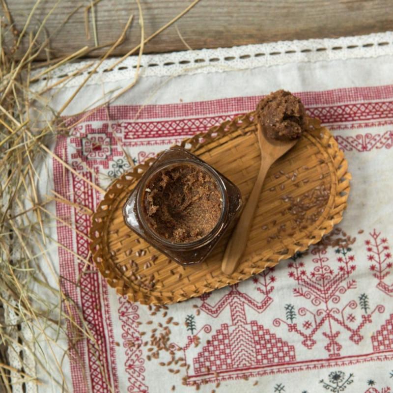 Урбеч льняной с мёдомСемя льна растирают на каменных жерновах, а мед привозят из Пемзы с содружественной пасеки. Урбеч получается ароматный и очень вкусный.<br><br>Вес г.: 320