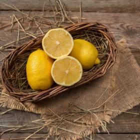 Лимоны зелено-жёлтые