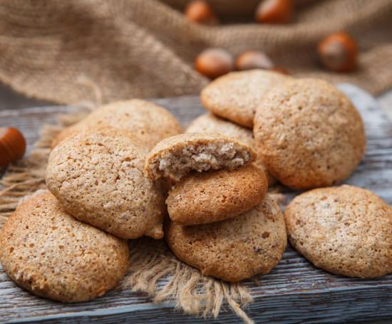 Воздушное ореховое печенье