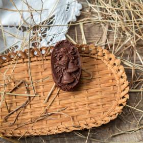 """Шоколад фруктовый """"Колокольчик"""" с кешью"""