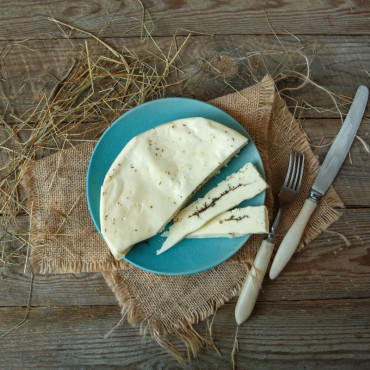 Сыр Халуми с мятой