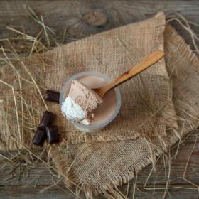 Мусс молочно-шоколадный