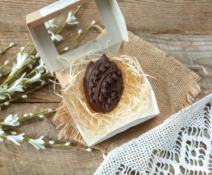 """Шоколад фруктовый с черносливом """"Ландыш"""""""