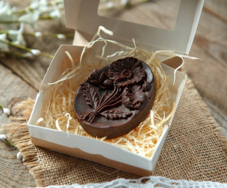 """Шоколад фруктовый с черносливом """"Маки"""""""