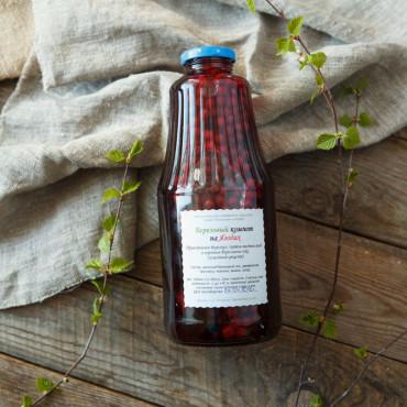 Березовый компот на ягодах