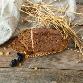 Хлебушек Пшенично-полбяной с сухофруктами и изюмом