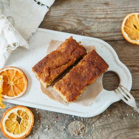 Коврижка традиционная с тыквой и апельсином