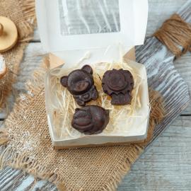 Фруктовый шоколад с кокосом детский Зверята