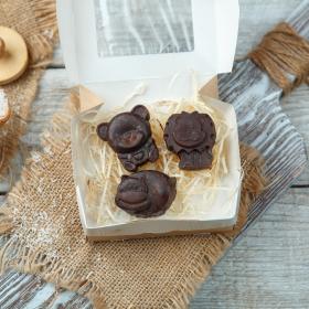 Фруктовый шоколад с кокосом детский «Зверята»