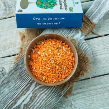 Суп морковно-чечевичный
