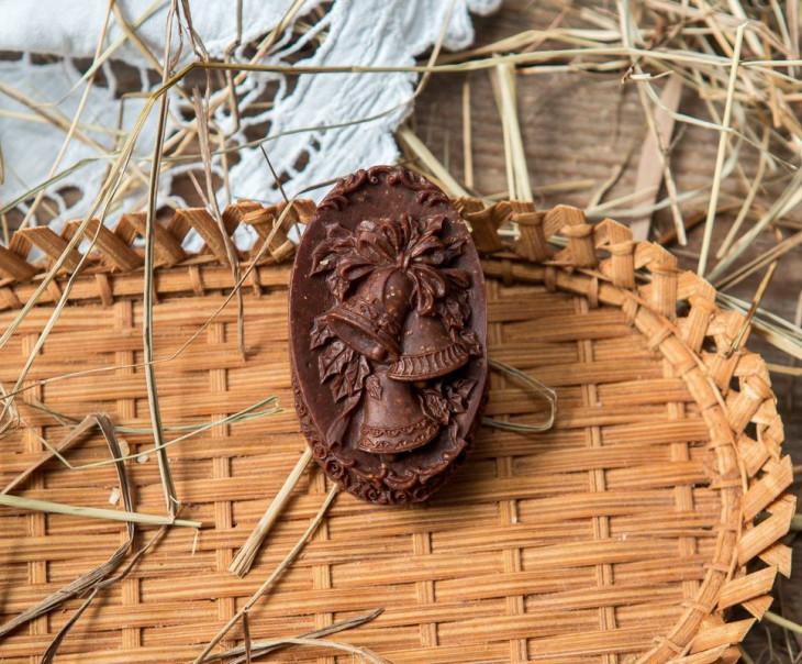 """Шоколад фруктовый """"Колокольчик"""" с кокосом"""