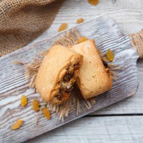 Печенье полбяное с сухофруктами