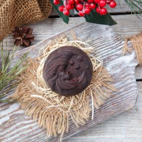 """Шоколад фруктовый """"Месяц"""" с изюмом и дробленым фундуком"""