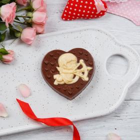 """Шоколадное сердце """"Купидон"""""""