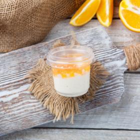 Йогурт 4% апельсиновый маленький
