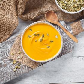 Суп-пюре тыквенный со сливками
