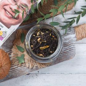 Черный чай Манго и кокос