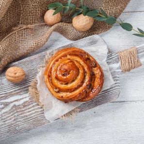 Улитка с грецким орехом