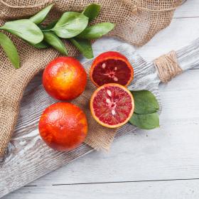 Апельсины сицилийские красные
