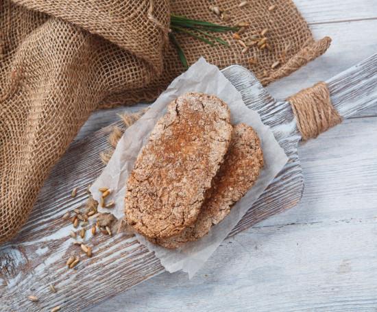 Лепёшки из пророщенного зерна пшеницы