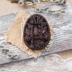 """Шоколад фруктовый  с клубникой """"Угощение на Пасху"""""""