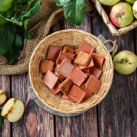 Пастила Яблочная хрустящая с малиной