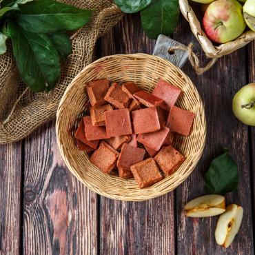 Пастила Яблочная хрустящая с вишней