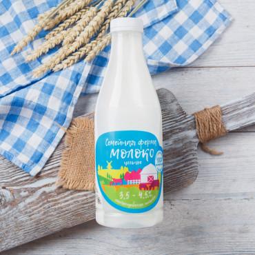 Молоко цельное 3,2-4,5%