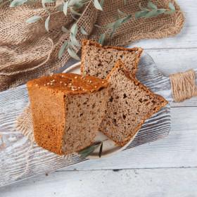 Хлеб ржаной с кориандром на закваске