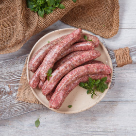 Колбаски для жарки и гриля из баранины.