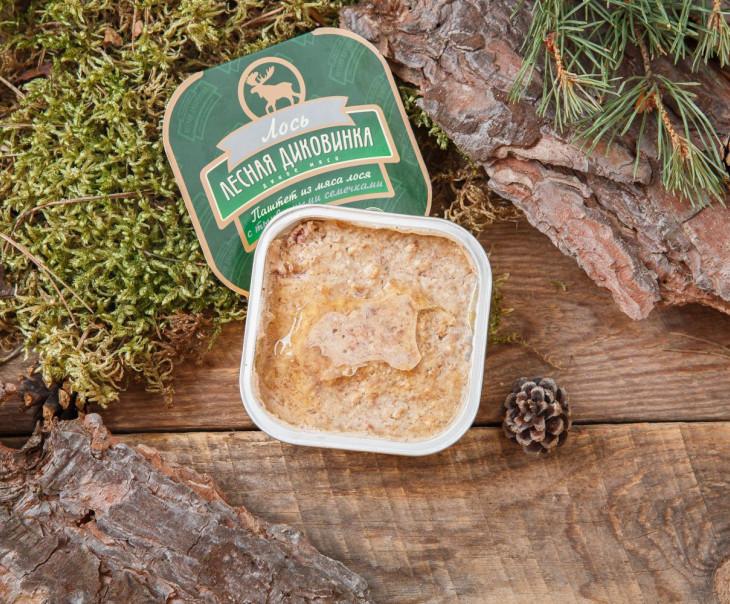 Паштет из мяса лося с тыквенными семечками (ламистер)