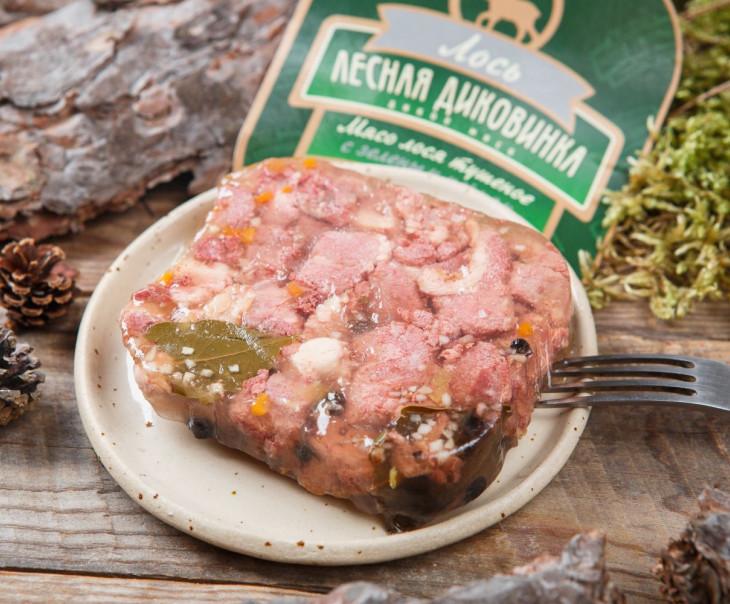 Тушеное мясо лося с зеленым перцем (ламистер)