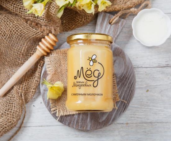 Мед с маточным молочком