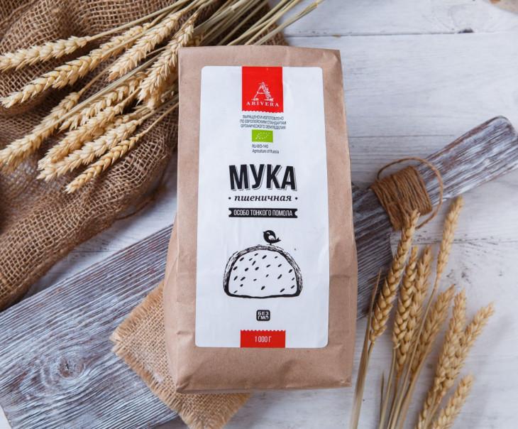 Мука пшеничная тонкого помола