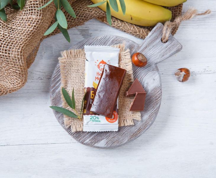 Батончик протеиновый Шоколад-банан