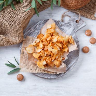 Кокосовые чипсы Соленая карамель