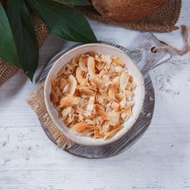 Кокосовые чипсы Морская соль
