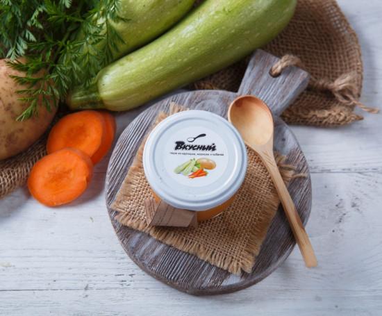 Пюре из кабачков, моркови и картофеля 5+