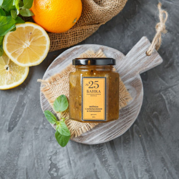 Десерт Фейхоа с апельсином и лимоном