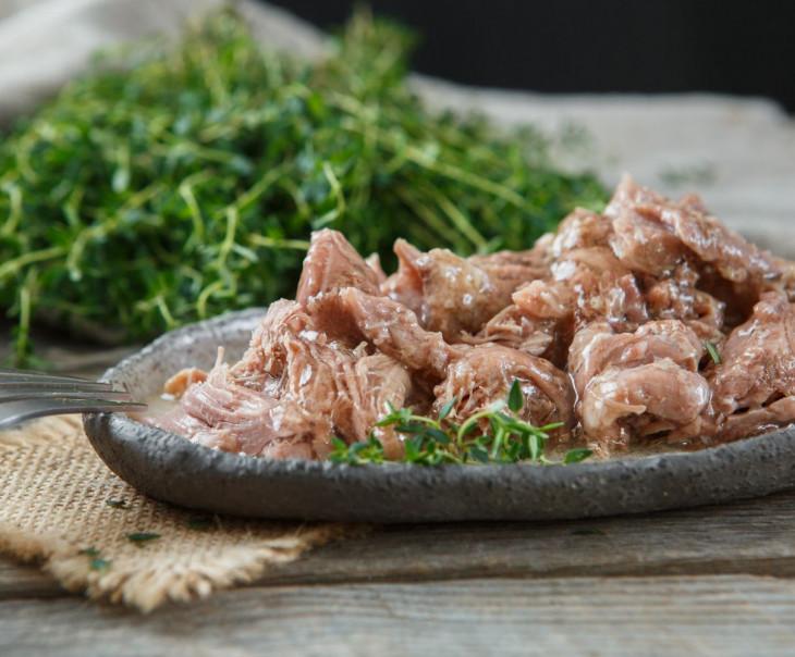 Тушенка из мяса утки